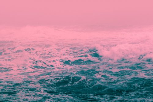 Aftermath – Oystein Sture Aspelund – Graphic Design – Infrared Style Pink and  ...