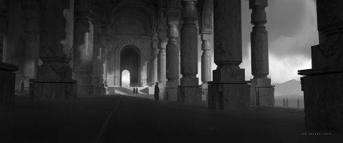 Jan Urschel – Futuristic World – Concept Art – Pillars