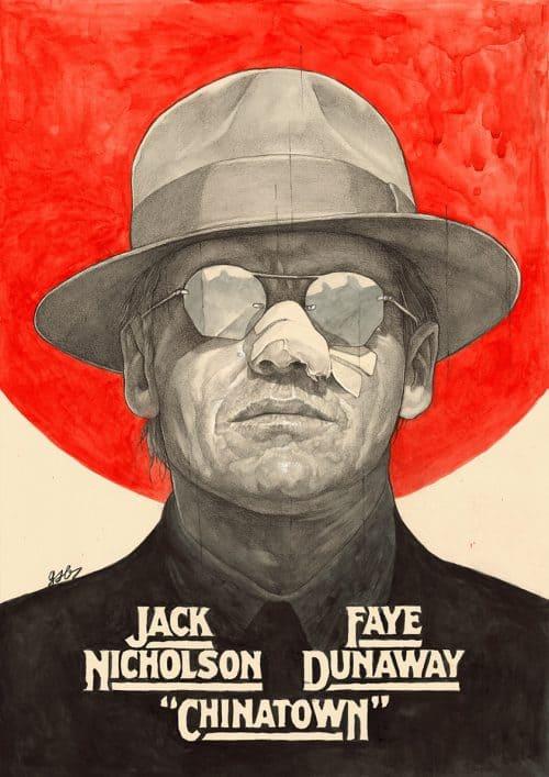 Chinatown — Movie Poster Illustration — Grzegorz Domaradzki