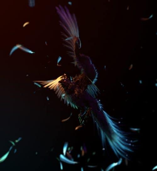 3D Vibrant Atmospheric Render Design – Wacom & Iris London – FutureDeluxe ̵ ...