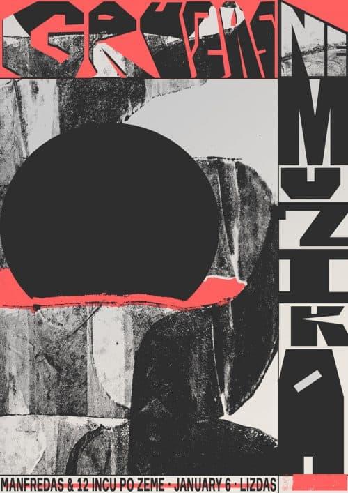 Graphic Design – Al White – Typographic Concert Poster