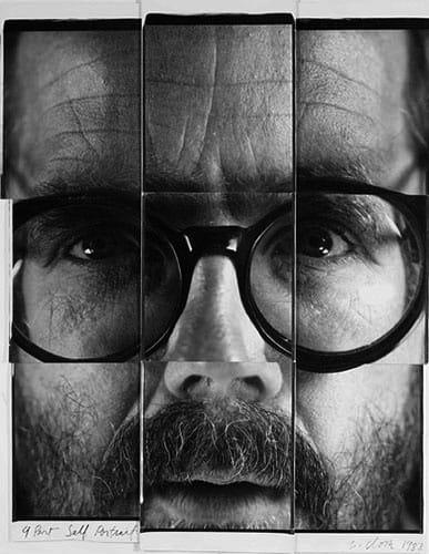 Black and White Photo Picture Grid Portrait Headshot