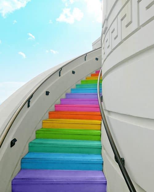Ramzy Masri – Vibrant Rainbow Spectrum Edits – Stairs