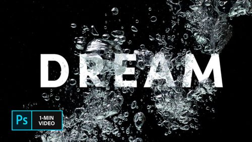 How to Create an Underwater Text Effect in Adobe Photoshop | Create