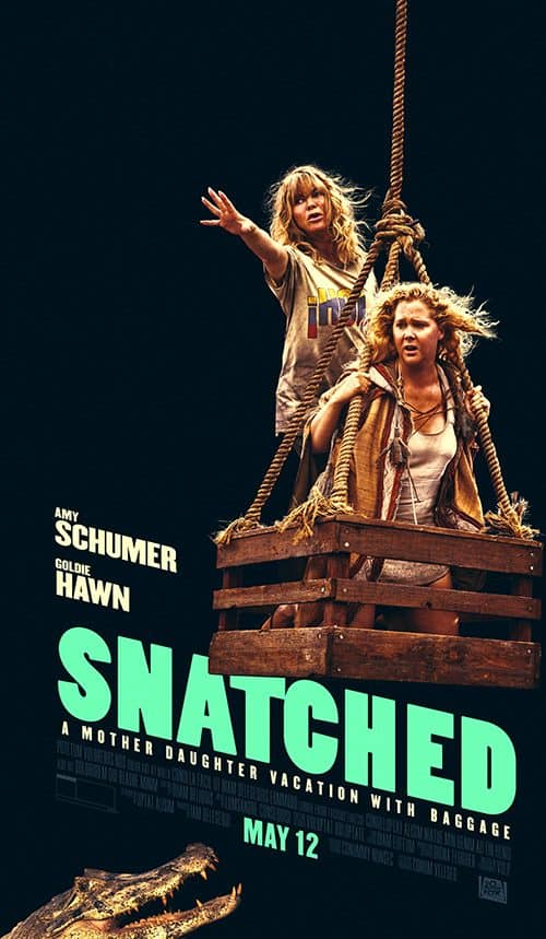 Key Art by Jason Burnam – Snatched – Amy Schumer and Goldie Hawn