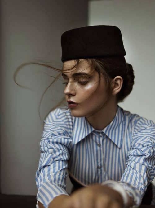 Portrait Photography – Beauty editorial published in Lovesome magazine