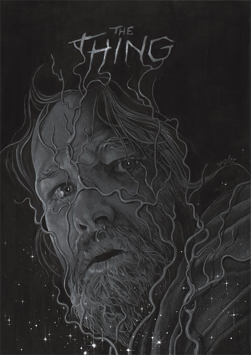 The Thing — Movie Poster Illustration — Grzegorz Domaradzki