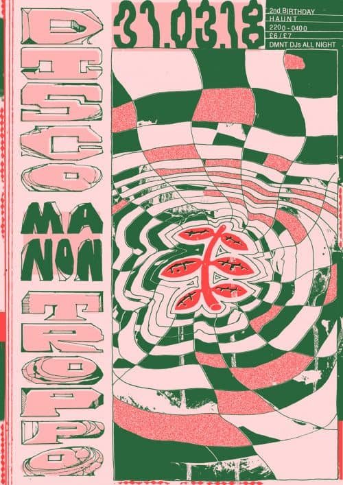 Graphic Design – Al White – Typographic Concert Poster