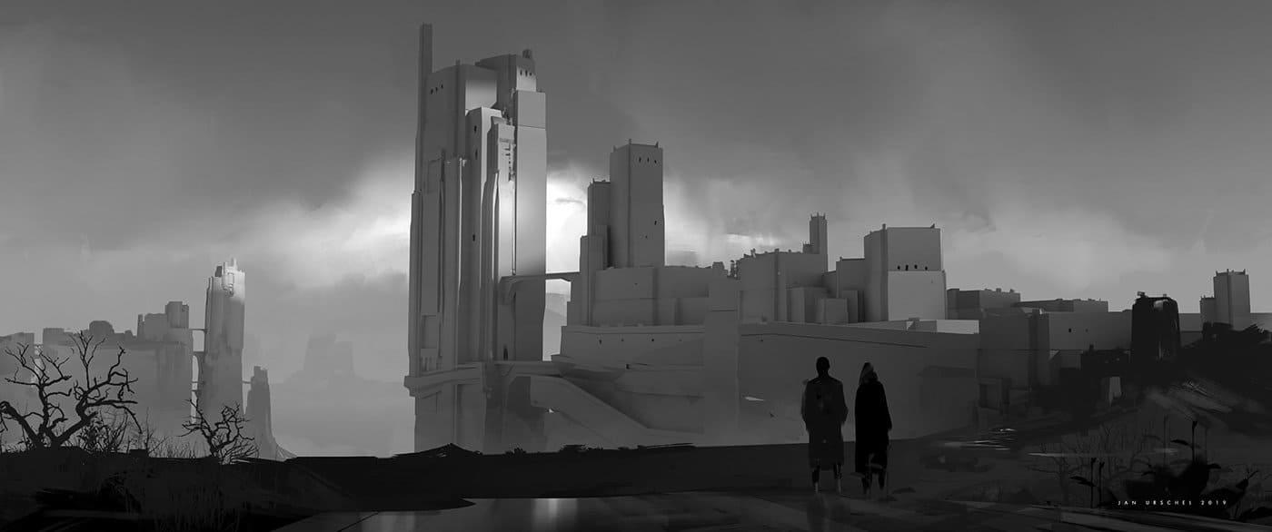 Jan Urschel – Futuristic World – Concept Art