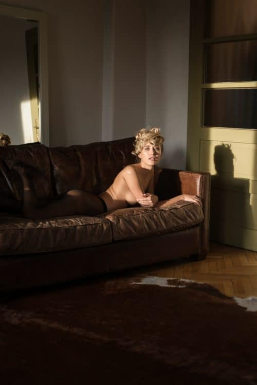 Calin Andreescu – PRIVACY SETTINGS for B-AUTHENTIQUE (Paris France) – in the nude