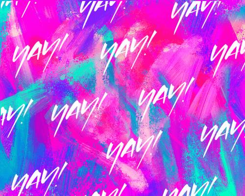 David Glissman – Handwritten Script on iPad – Yay! Pattern