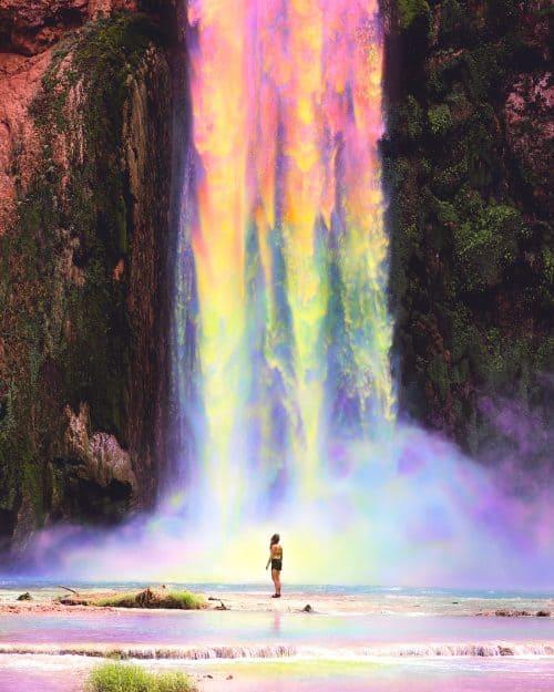Ramzy Masri – Vibrant Rainbow Spectrum Edits – Waterfall
