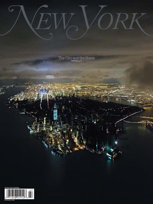 Jody Quon Magazine Cover Designs for New York Magazine – City and the Storm