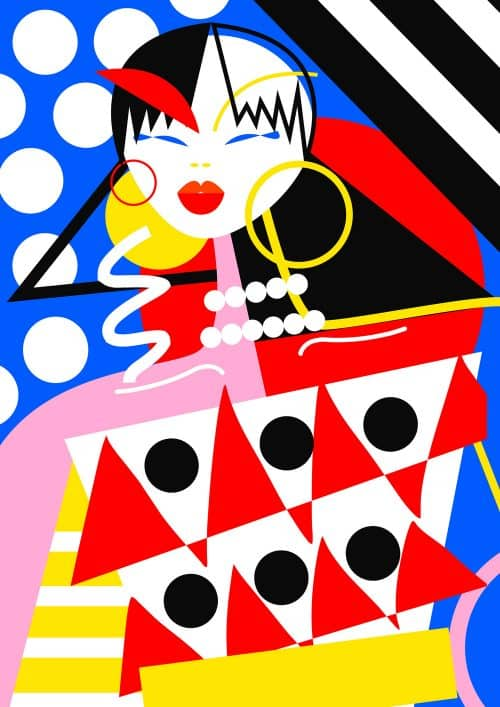 Illustrations by Ana Jaks – Portrait Girl