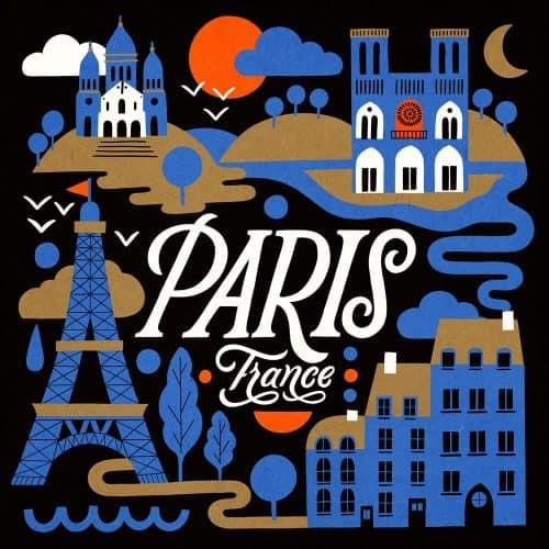 Illustrations by Carmi Grau – Paris, France