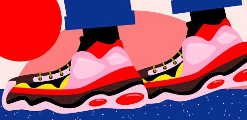 Illustrations by Ana Jaks – Japan Culture Trip – Sneakers