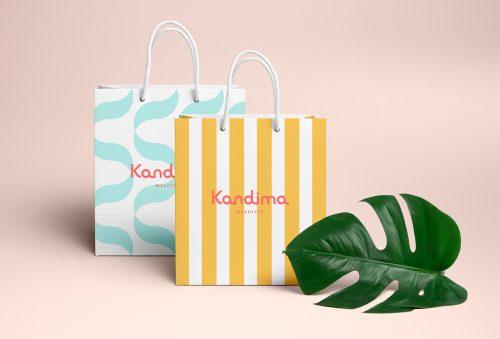 Branding – Kandima – Paper Bags