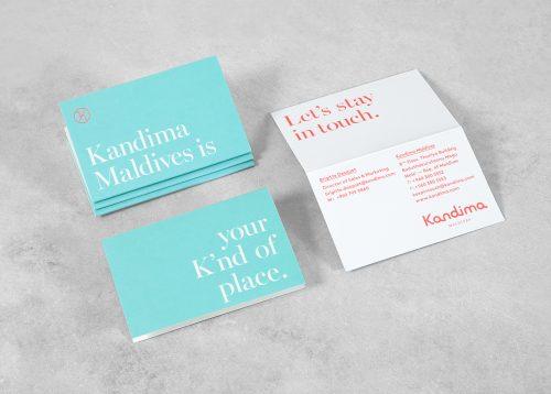 Branding – Kandima Resort Pamphlet