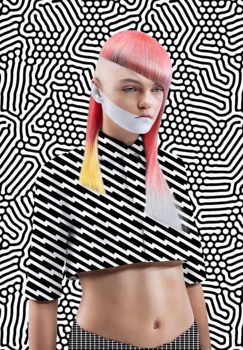 O L A B salon – NAHA (North American Hairstyle Award) contest WINNER – Advertisement