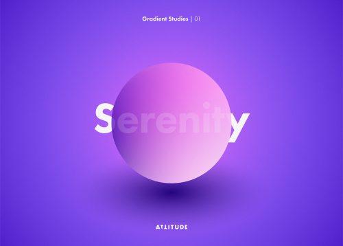 Gradient Studies – Attitude – Serenity