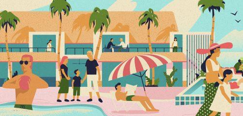 Kandima Resort Illustration