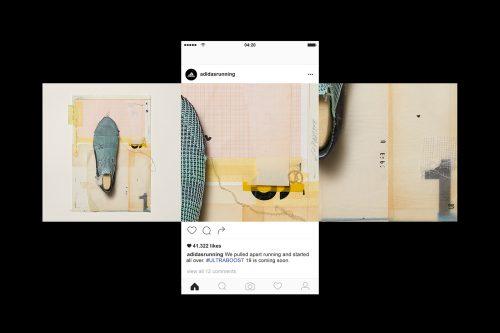 adidas UB19 – deconstructed performance sneaker shoe materials