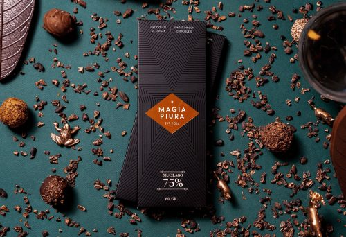 Magia Piura Cacao Chocolate Packaging Design Branding