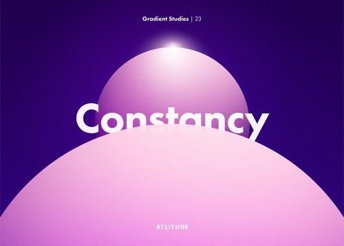 Gradient Studies – Attitude – Constancy