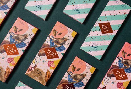 Magia Piura Cacao Chocolate Packaging Design Branding