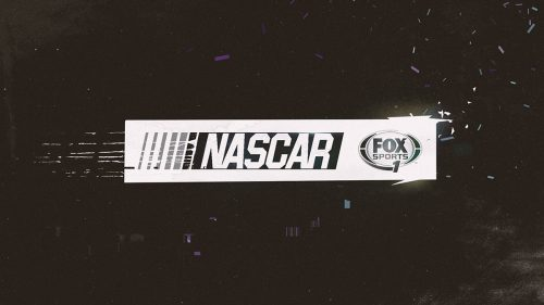 Nascar All-Star Race in Charlotte. Teaser & promo style frame graphics for Fox Sports