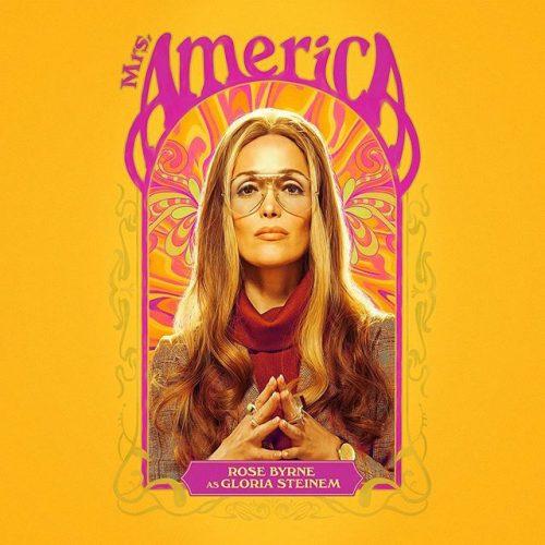 Mrs. America Social Campaign Character Card – Rose Byrne / Gloria Steinem