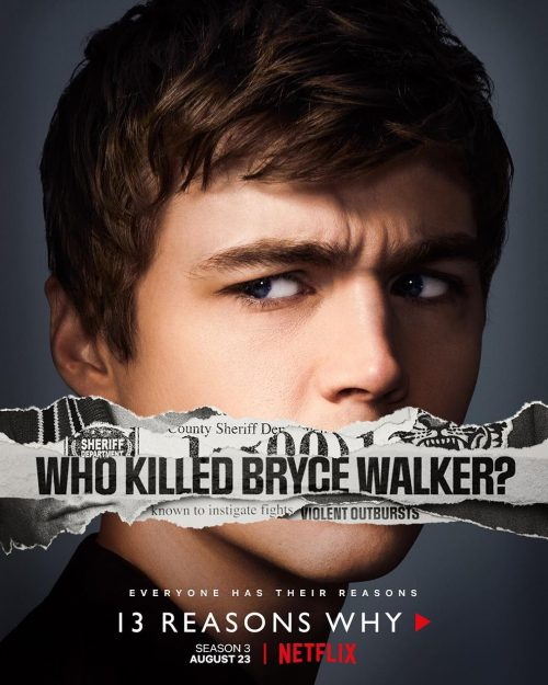 Netflix 13 Reasons Why Social Campaign – who killed bryce walker