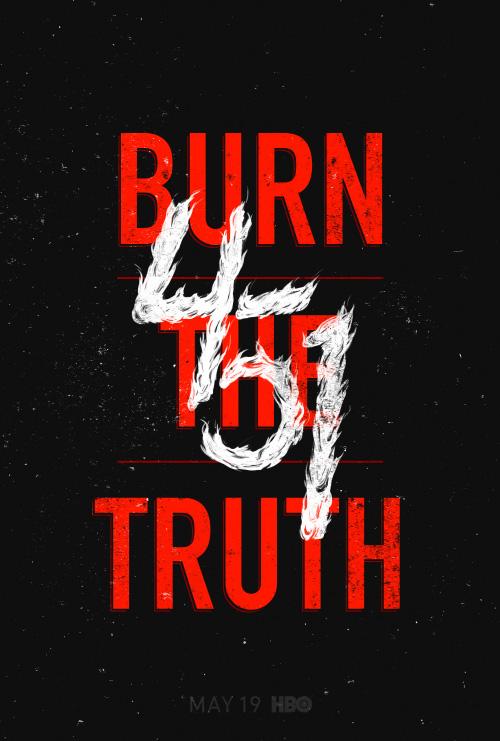 Key Art by Jason Burnam – Fahrenheit 451 – Burn The Truth