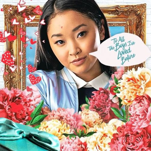 Netflix To All the Boys I've Loved Before Illustrated Social Campaign