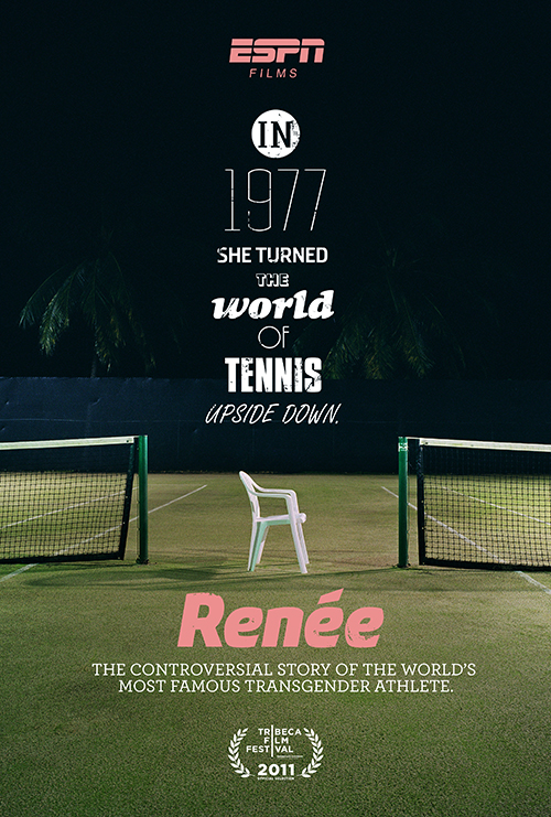 Key Art by Jason Burnam – ESPN Tennis Films Renee