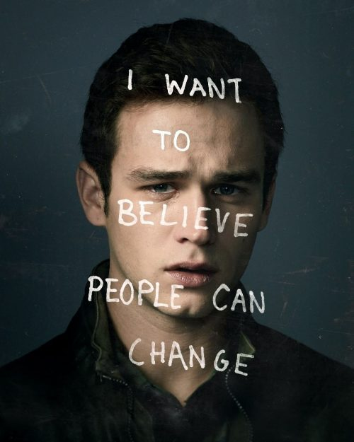 Netflix 13 Reasons Why Social Campaign – i want to believe people can change