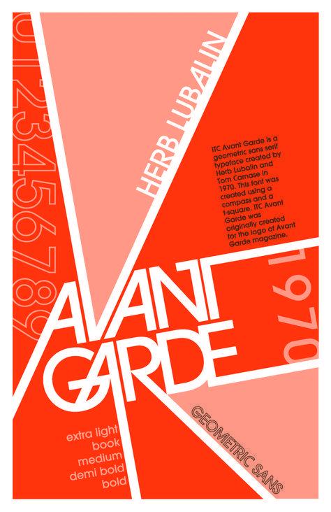 Modern Minimal Brutalist Typography Design Posters – Avant Garde