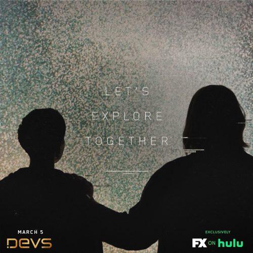 FX on Hulu – Devs – Glitch Style Social Campaign