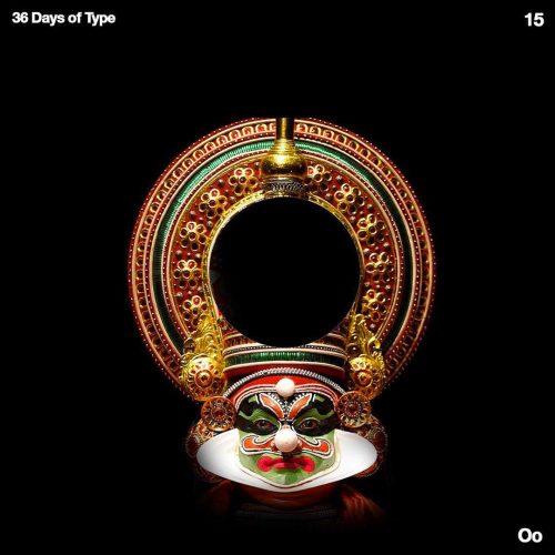Sushante Bhosle 36 Days of Type Design – O