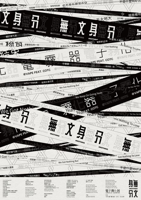 Modern Minimal Brutalist Typographical Design Posters
