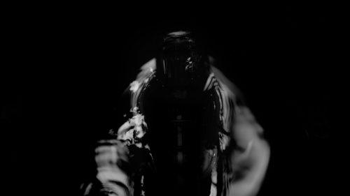 Black Magic Mezcal El Silencio – Black and white Dark Silhouettes and shadows