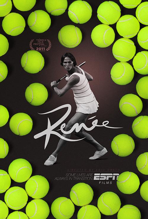 Key Art by Jason Burnam – ESPN Tennis Films Renee