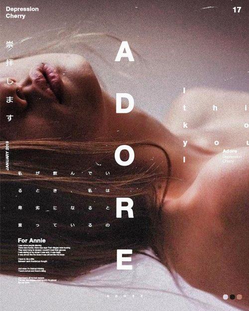 Sushante Bhosle Poster Design – Adore
