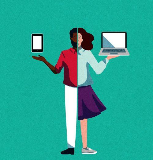 Julie Guillem Nexity Technology Illustrations