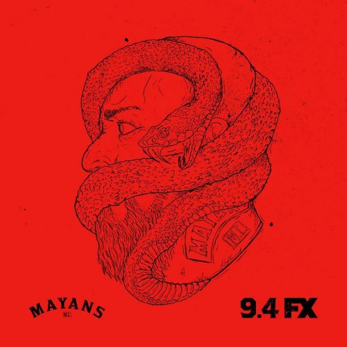 Mayans Motorcycle Club Social Campaign – Snake Head Illustration
