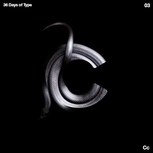 Sushante Bhosle 36 Days of Type Design – C – Snake