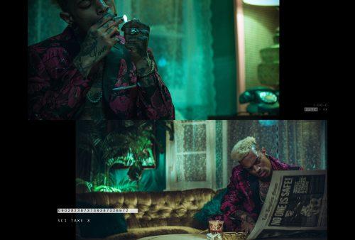 Midnight Hour Gel Light Photography Cinematic Still Frames