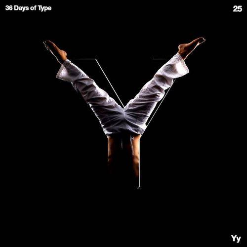 Sushante Bhosle 36 Days of Type Design – Y