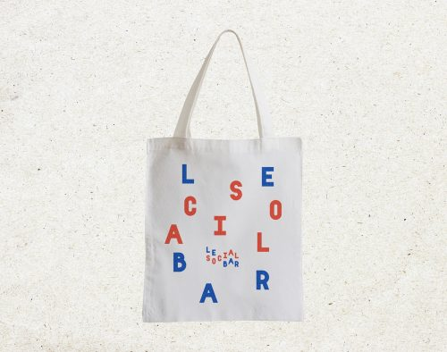 Le Social Bar Paris – Identity and Branding Design