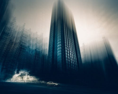 Blurred Cityscape Photography